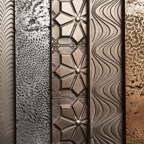 Jesmonite Flex metal gel-coats
