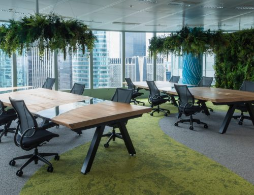 When a river table takes place in the meeting room